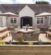 Al Fresco Dining Area Bulls Head